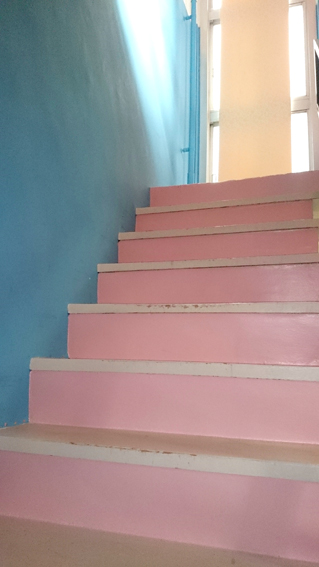 stairs-palepink
